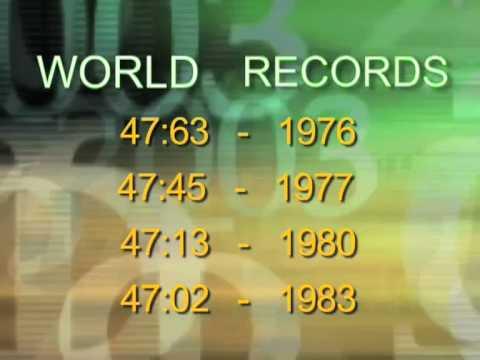 "EDWIN MOSES - ""ALL ABOUT THE NUMBERS"" ANIMATION"