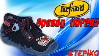 Детские текстильные мокасины Befado Speedy 110P295. Видео обзор от WWW.STEPIKO.COM