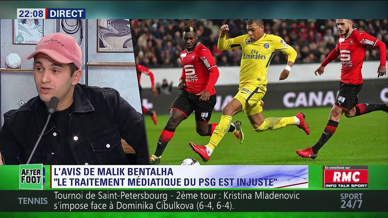After Foot du jeudi 01/02 – Partie 1/6 - L'avis tranché de Malik Bentalha sur PSG