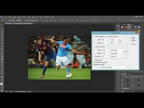 Cara Merubah Ukuran Gambar Photoshop (Reseize)