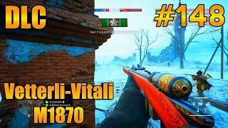 Vetterli-Vitali M1870! In The Name Of The Tsar DLC Battlefield 1 (PS4 Pro) Multiplayer Gameplay #148