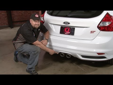 Focus St Parts >> Focus ST Flowmaster American Thunder Cat-Back Exhaust System 2013-2018 Installation - YouTube
