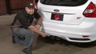 Focus ST Flowmaster American Thunder Cat-Back Exhaust System 2013-2018 Installation