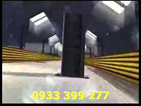 Hệ thống phòng chiếu phim 4D, Demo phim 4D Đường đua tử thần.mp4