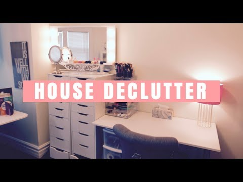 Declutter my house before after tour youtube - Declutter before and after ...