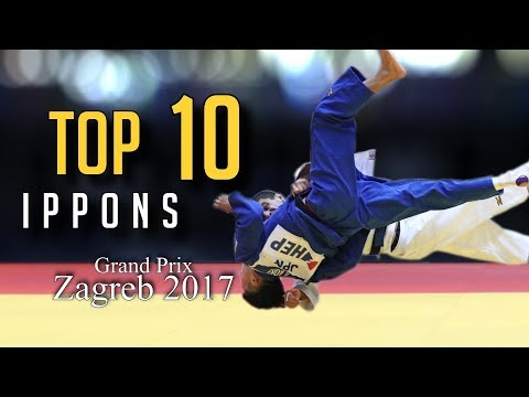 TOP 10 IPPONS | Grand Prix Zagreb 2017 | JudoHeroes