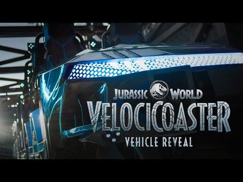 FIRST LOOK: Jurassic World VelociCoaster Ride Vehicle