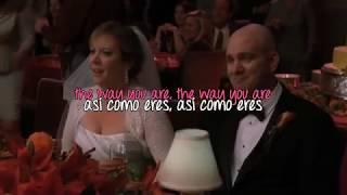 Glee: Just The Way You Are (lyrics - sub español)