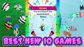 BEST NEW IO GAMES!! // Snowfight.io, Bubblebee.io, Gravitygame.io