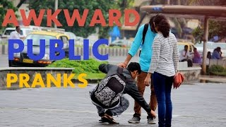 Awkward Public Pranks | Pranks in india 2016 | Tango Tube