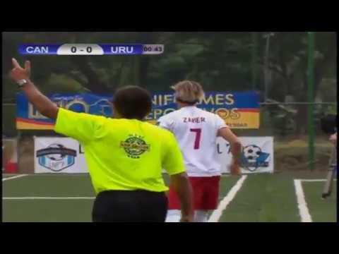 Uruguay vs Canada Mundial futbol 7