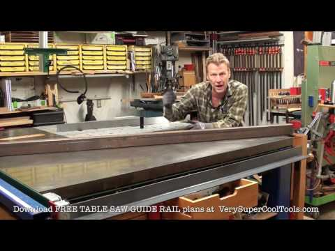 1006. Buying Steel For Your Table Saw Guide Rails