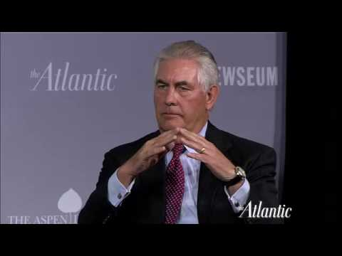 Rex Tillerson and Maria Bartiromo / Washington Ideas 2011