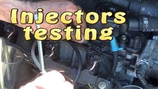 How to test common rail diesel  injector...