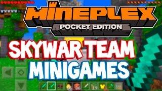 Minecraft PE 1.0 - IP Servidor De Skywars Em Dupla E Minigames