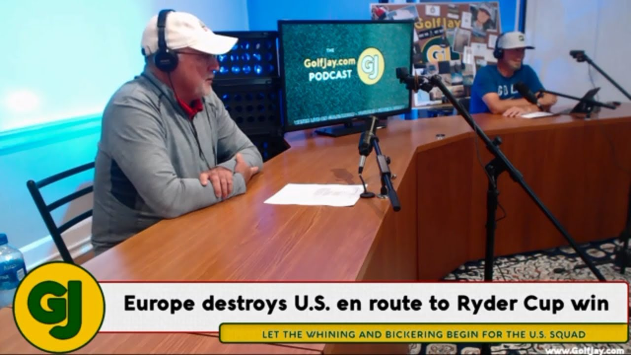 Ryder Cup Reactions & PGA Tour Season Preview .::. GolfJay.com Podcast 10/1/18