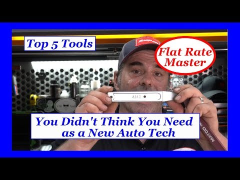 Top 5 Tools You Didn't Think You Need As A New Auto Tech