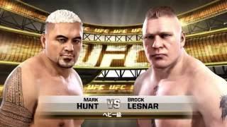 UFC on PS4  Hunt vs. Lesnar (UFC200 rematch!)