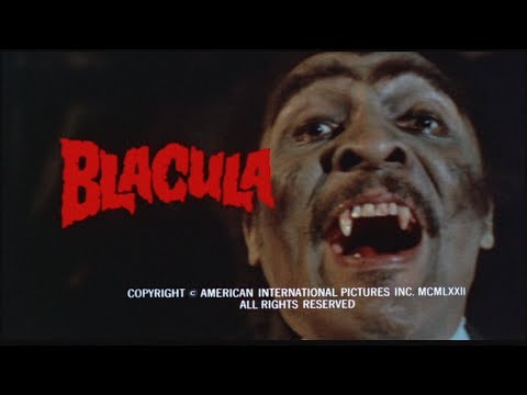 Blacula 1972,  Starring  William Marshall, Vonetta McGee, Denise Nicholas