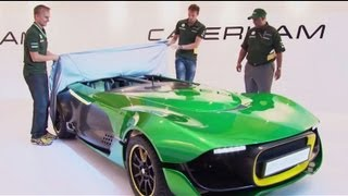 Caterham AeroSeven Concept 2013 Videos