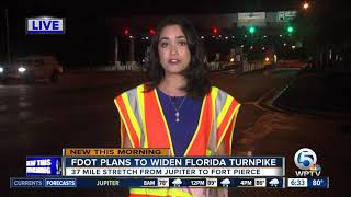 Report: FDOT plans to widen Florida