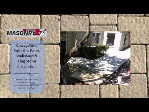 Chicago and Suburb's Patio, Walkways & Flag Stone Installation