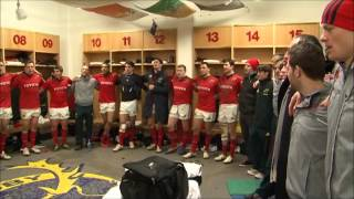 Munster Squad Sing Stand Up And Fight