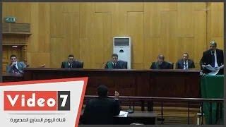 """قاضى """"أحداث بولاق أبوالعلا"""" يعنف الدفاع لجهلهم بقانون الإجراءات الجنائية"""