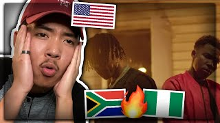Tellaman feat. Alpha P - Cross My Heart (Official Music Video) AMERICAN REACTION! South African | US