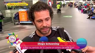 Diego Schoening confiesa si mantiene contacto con Paulina Rubio | Sale el Sol