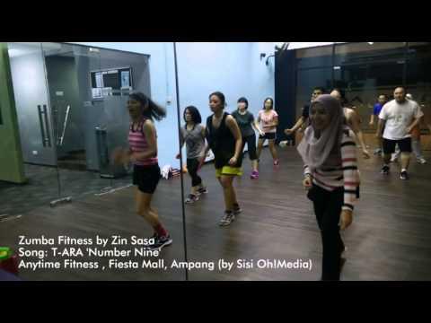Zumba Fitness Malaysia : T-ARA 'No. 9' by ZIN Sasa