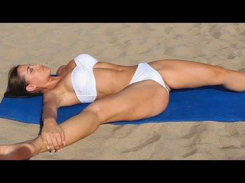 Cách tập yoga để có đôi chân đẹp