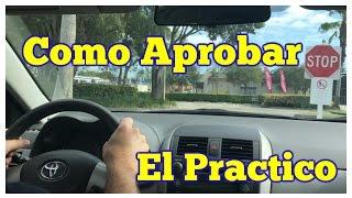 COMO APROBAR EL EXAMEN PRACTICO DE MANEJO /MANEJAR/CARRO/PRUEBA /LICENCIA DE CONDUCIR