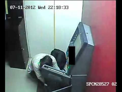 Allahabad Axis  Bank ATM CCTV VISUAL  10