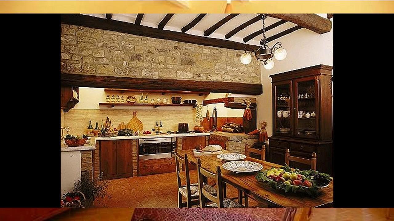 Ideas de decoración toscana para casa - YouTube