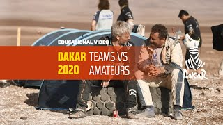 Dakar 2020 - Educational Video - Teams vs Amateurs