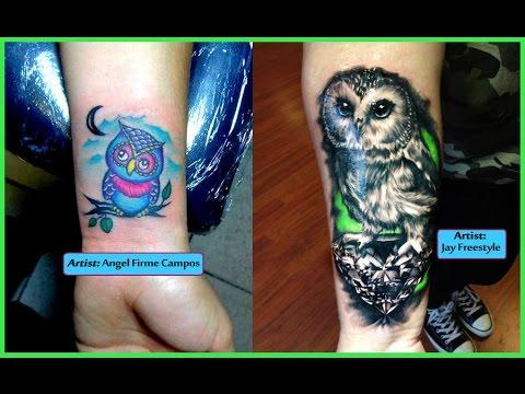 Mejores Tatuajes De Buhos Youtube