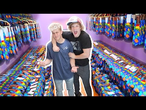 Thumbnail: REPLACED MY BROTHER'S CLOSET WITH 1,000 PAIRS OF SOCKS! **PRANK WARS**