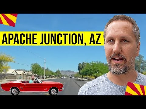 Apache Junction, Arizona Tour: Moving / Living In Phoenix, Arizona Suburbs