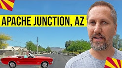 Apache Junction, Arizona Tour: Moving / Living In Phoenix, Arizona Suburbs