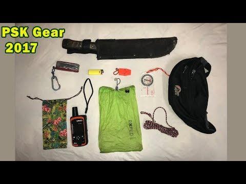 My Personal Survival Kit - New PSK Gear ideas 2017