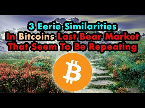 3 EXACT Symmetries In Bitcoins Price | Bitcoin Bottom Lower BUT Sooner Than Expected?