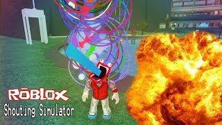 Roblox : Shouting Simulator จำลองการแหกปาก สุดฮาร์ดคอ thumbnail