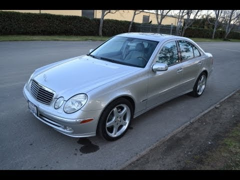Sold 2003 silver mercedes e500 for sale by corvette mike for Mercedes benz e500 for sale