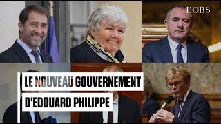Le nouveau gouvernement d'Edouard Philippe
