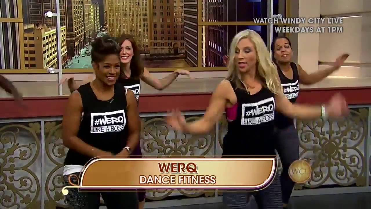 Werq Dance Fitness On Windy City Live Youtube