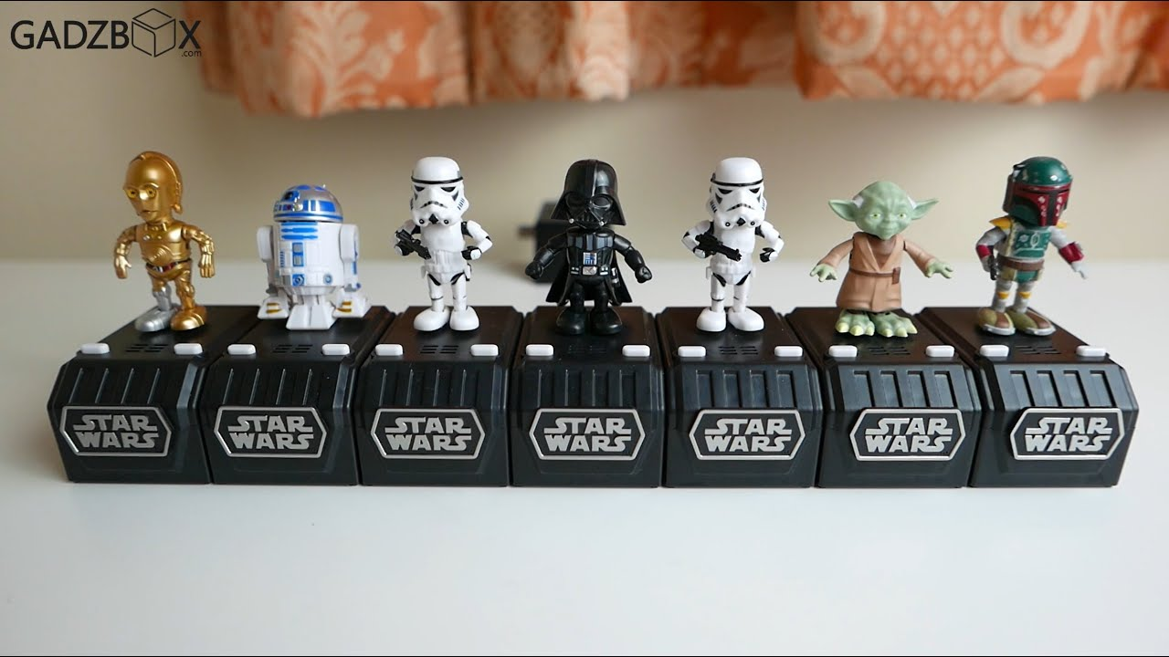 Review Star Wars Space Opera singing toy from Japan