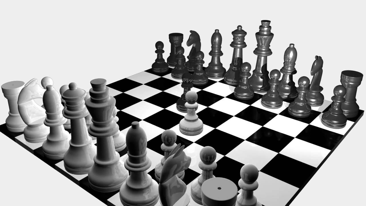 3d schachbrett