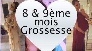 8 & 9 ème mois de Grossesse + Nouvelle Chaîne!