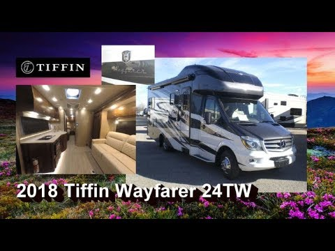 NEW 2018 Tiffin Wayfarer 24TW | Mount Comfort RV